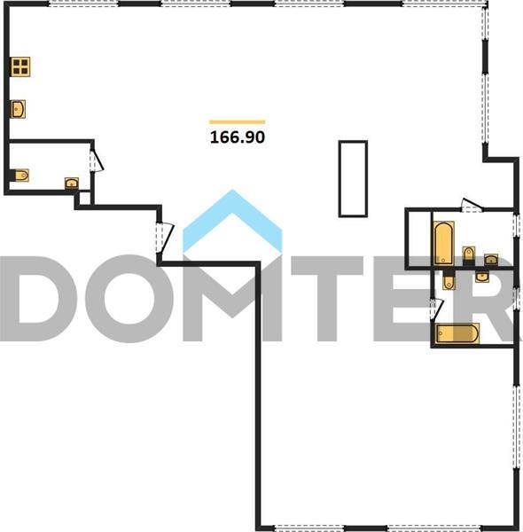 4-комнатная квартира в ЖК Фили Сити