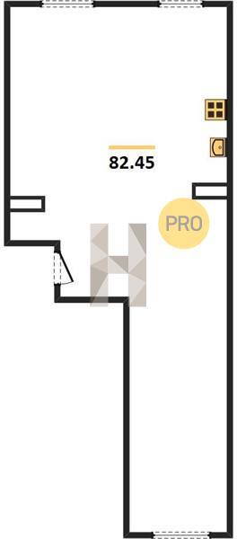2-комнатная квартира в ЖК Грибовский лес