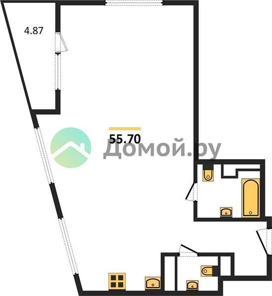 2-комнатная квартира в ЖК Парк Легенд
